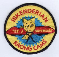 "Iskenderian Racing Cams ""Its' a Supercam"" Reproduction Embroidered Patch"