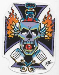 PIZZ Gone Gasser Sticker