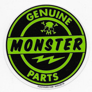 Genuine Monster Parts sticker Kruse