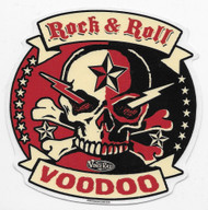 Vince Ray Rock & Roll  Voodoo Sticker