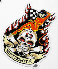 Vince Ray Sweet Unlucky 13 Sticker