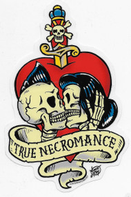 Vince Ray True Necromance Sticker