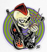 Vince Ray Rocker Sticker