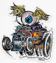 Von Franco Eye Gone Wild Sticker