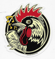 Kruse Rockabilly Rooster Sticker