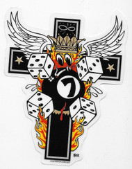 Kozik Emos Cross Sticker
