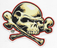 Dirty Donny FreeDom Skull Sticker