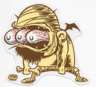Dirty Donny Mummy Sticker