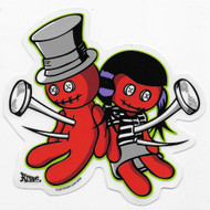 Kruse Voodoo Luv Sticker