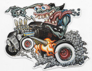 Bigtoe Joe Monster Burnout Sticker