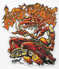 Bigtoe Joe Kook Deville Sticker