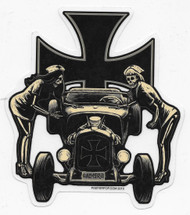 Almera Psychobilly Sticker