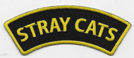 Stray Cats Rock n Roll Embroidered Patch