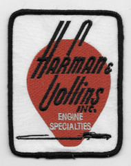 Vintage-style Harman & Collins patch