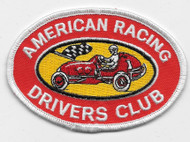 American Racing Drivers Club Patch