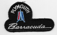 Vintage Plymouth Barracuda Patch