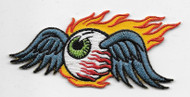 Von Dutch-style Flying Eye patch by artist REED