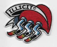 Illicit Hot Rod Heart Patch
