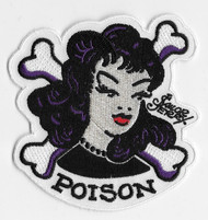 Sailor Jerry Tattoo Style Poison Patch