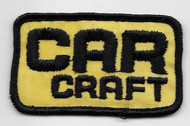 CAR CRAFT Patch
