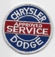 Chrysler Dodge Approved Service Patch