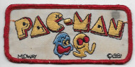 Vintage Pac-Man Patch