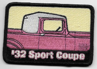 Rare '32 Sports Coupe Patch