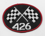 Vintage 426 Crossed Flags Patch