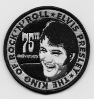 Elvis 75th Anniversary Patch