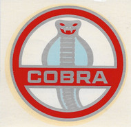 Vintage Cobra Water slide decal