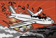 Max Grundy Plane Sticker