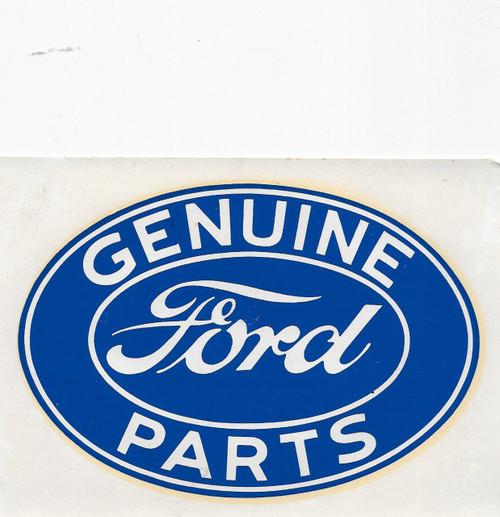 Vintage Ford Decals : Large vintage ford water slide decal houseospeed