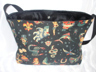 Black Flash Tattoo Baby/Toddler Diaper Carry All Bag