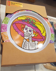 "Day of the Dead  ""My Little Dishes"" 3 piece set Plate,Bowl & Cup"