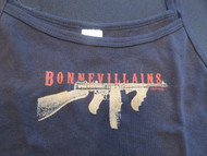 Bonnevillain's Machine gun 1920-1933 Woman's Baby Doll Tee