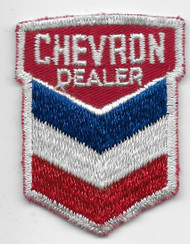 Chevron Dealer Patch