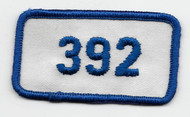 Vintage style Engine #292 Patch