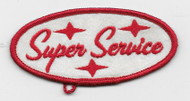 Super Service Vintage style patch