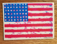 Kozik USA Patriotic Flag Sticker