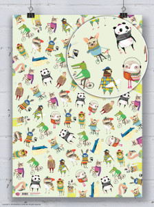 Wildstyle Gift Wrap