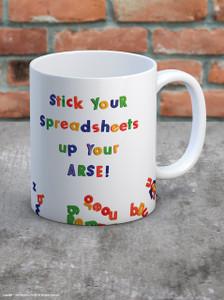 Spreadsheet Boxed Mug