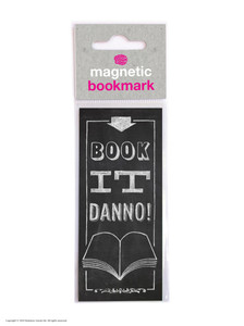 Book It Danno Funny Magnetic Bookmark