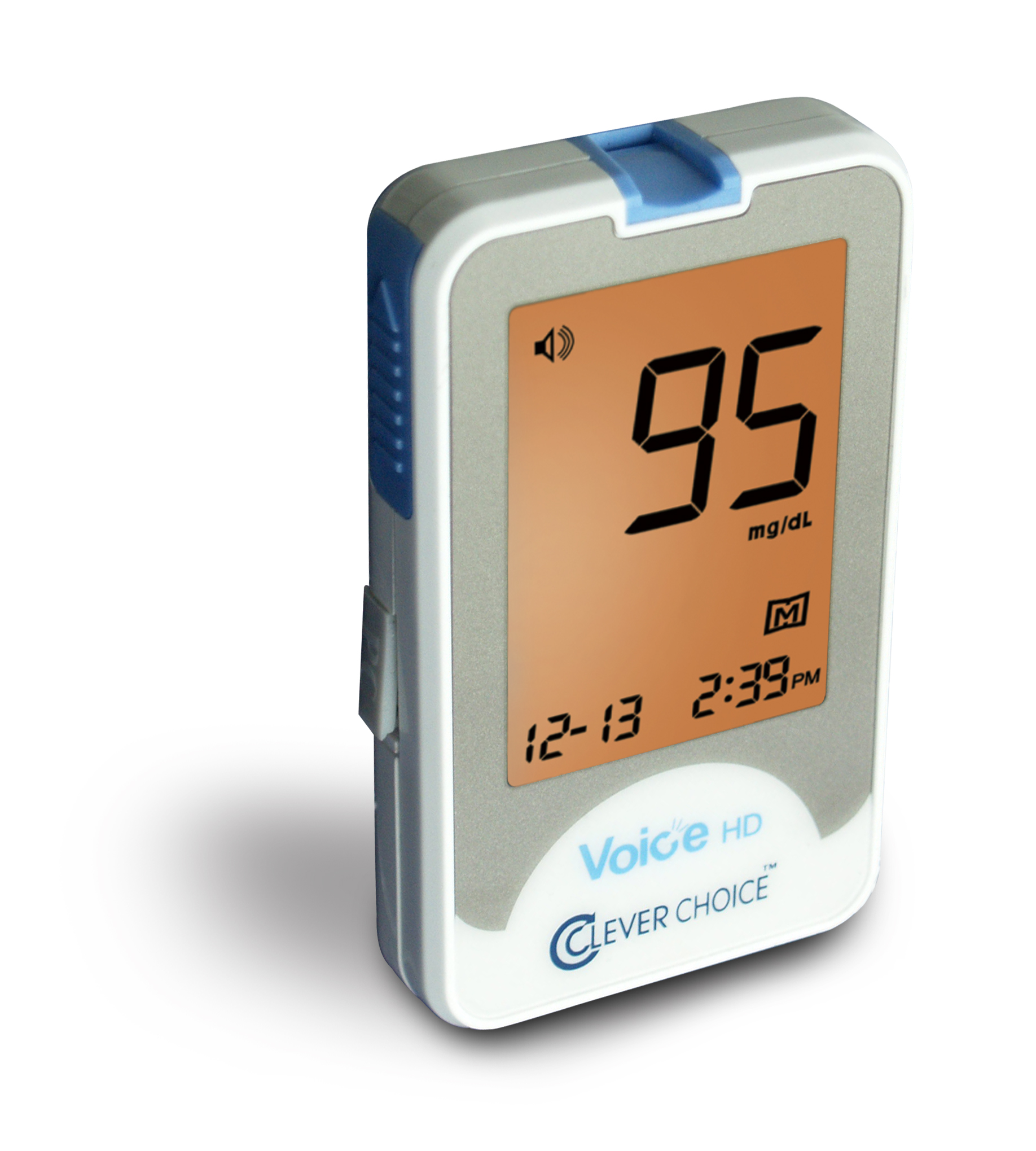 Clever Choice Auto Code Voice Blood Glucose Monitoring System