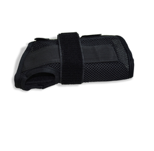 Black Carpal Tunnel Wrist Braces/Supports Front view
