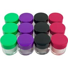 20g Cosmetic Sample Jar Top View