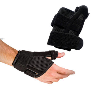 Houseables Reversible Thumb Stabilizer Wrist Brace Support MCP Joint Pain Arthritis Relief - Front View