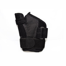 Houseables Reversible Thumb Stabilizer Wrist Brace Support MCP Joint Pain Arthritis Relief - Bottom View