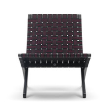 """Houseables 2"""" Latex Elasbelt Stretch Webbing Upholstery - Sofa / Chair Repair - 40' Roll - With chair View"""