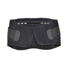 Back Support Brace Belt Lumbar Lower Waist Double Adjust- L, Single View