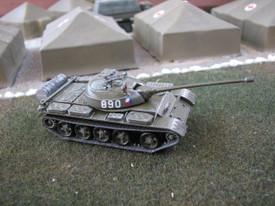 Soviet T-54B Main Battle Tank. SDV 87044 Unfinished Plastic Kit. 1/87 Scale NIB